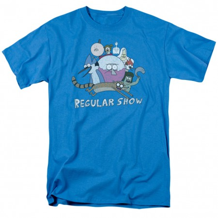 Regular Show Cast of Characters Tshirt