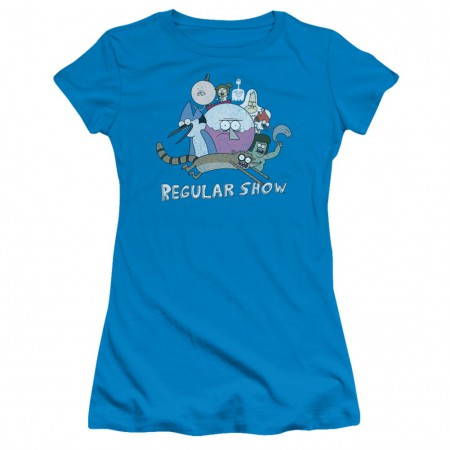 Regular Show Cast of Characters Womens Tshirt