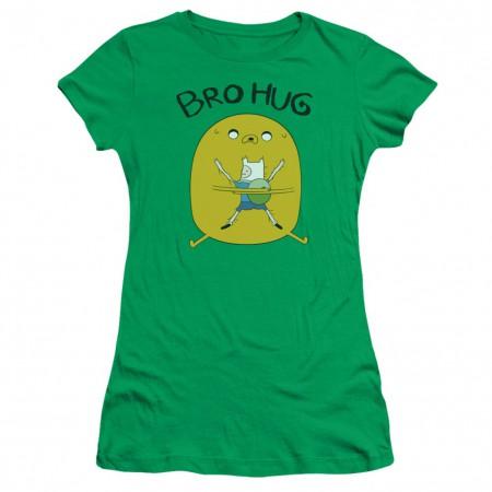 Adventure Time Bro Hug Womens Tshirt