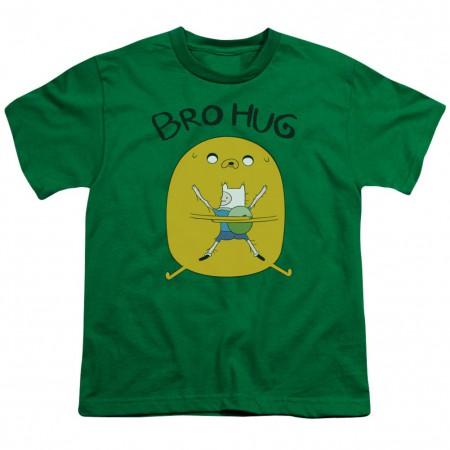 Adventure Time Bro Hug Youth Tshirt