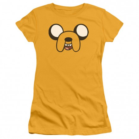 Adventure Time Jakes Face Womens Tshirt