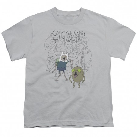 Adventure Time Sugar Zombies Youth Tshirt