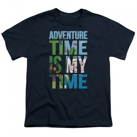 Adventure Time Is My Time Youth Tshirt