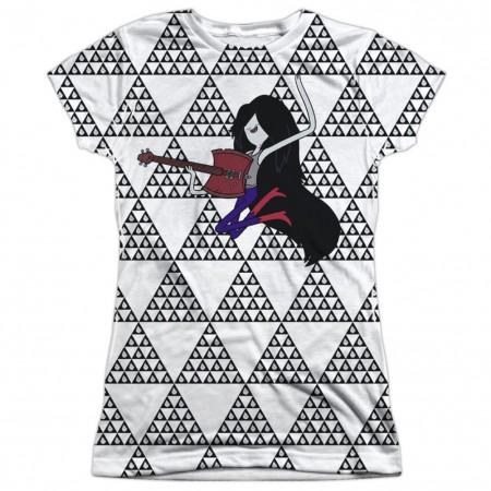 Adventure Time Marcy On Guitar Womens Tshirt