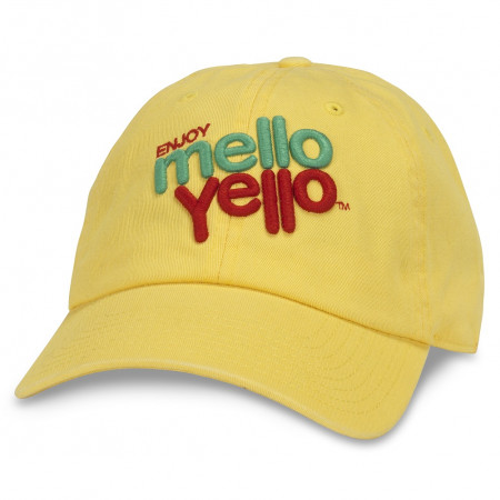 Mellow Yellow Adjustable Strapback Hat
