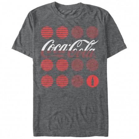 Coca-Cola Coke Circles Gray T-Shirt