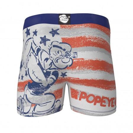 Popeye American Flag Boxer Briefs