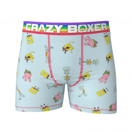 Spongebob Rainbow Band Boxer Briefs
