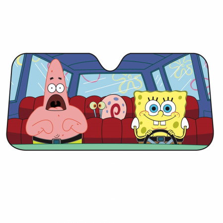 SpongeBob SquarePants Car Sun Shade
