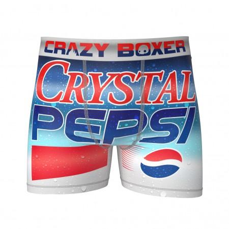 Crystal Pepsi Men's Boxer Briefs