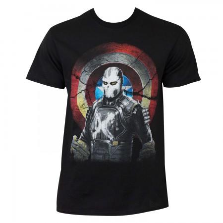 Captain America Civil War Men's Cross Bones Marvel Mercenary T-Shirt