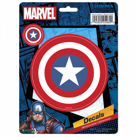 Captain America Shield Car Emblem