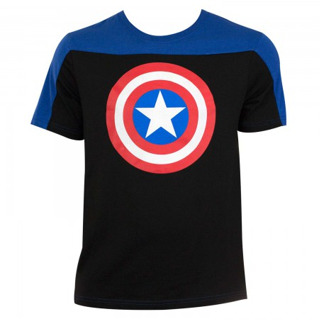 Captain America Men's Two-Tone T-Shirt