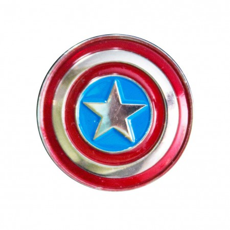 Captain America Logo Lapel Pin