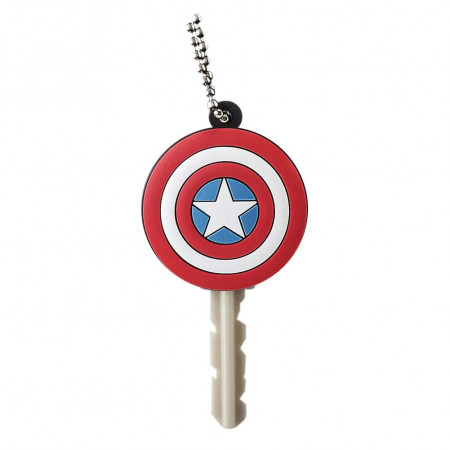 Captain America Rubber Key Holder