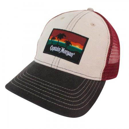 Captain Morgan Beach Side Mesh Snapback Hat