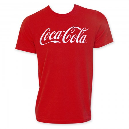 Coca-Cola Classic Logo Red Tee Shirt