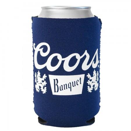 Coors Banquet Foam Can Cooler