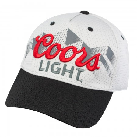 Coors Light Grey Jersey Snapback Hat