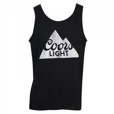 Coors Light Men's Black Tank Top