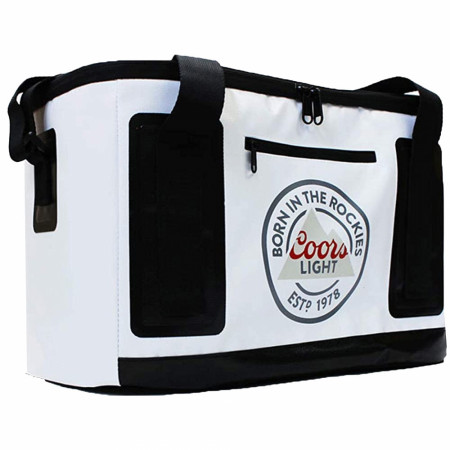 Coors Light Beer Born in the Rockies 1978 Cube Cooler