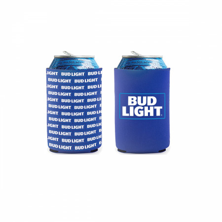 Bud Light 2-Pack of Neoprene Can Coolers