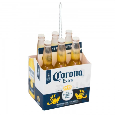 Corona Extra Bottle Six Pack Ornament