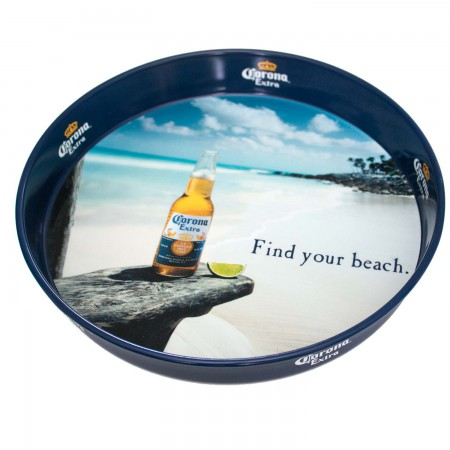 Corona Extra Find Your Beach Serving Tray