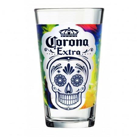 Corona Extra Día de Muertos Pint Glass