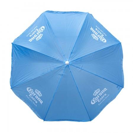 Corona Extra Light Blue Beach Umbrella