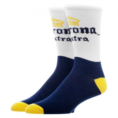 Corona Extra Cerveza Classic Colors Men's Crew Socks