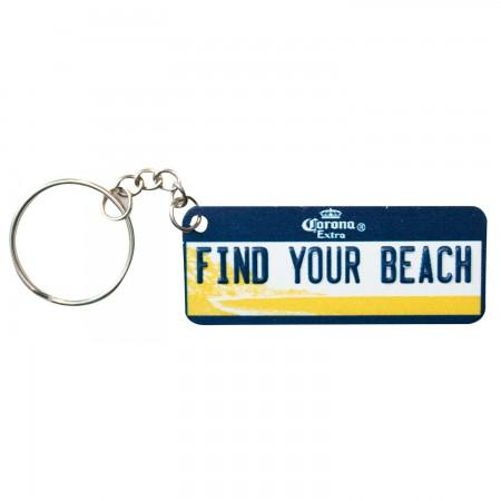 Corona Extra License Plate Keychain
