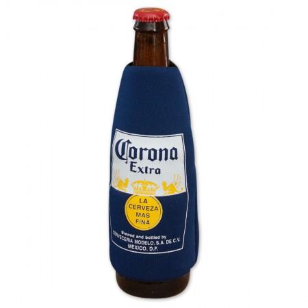 Corona Extra Navy Blue Bottle Sleeve}