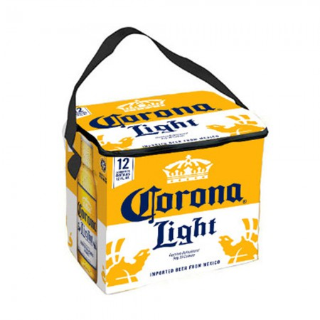 Corona Light 12 Pack Yellow And White Soft Cooler