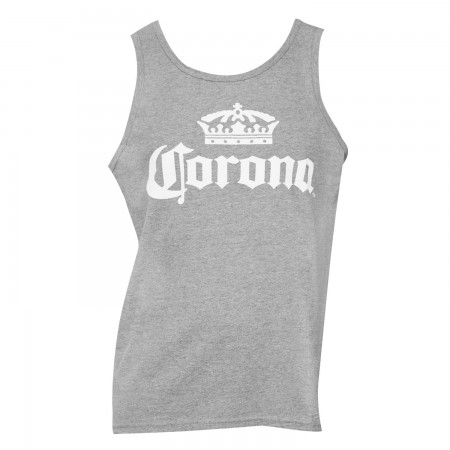 Corona Crown Logo Grey Tank Top