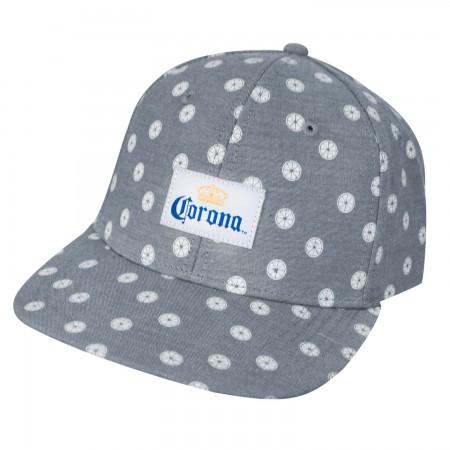 Corona Grey Mini Limes Strapback Hat