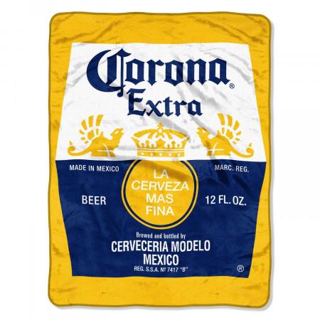 Corona Extra Super Plush Fleece Beach Blanket