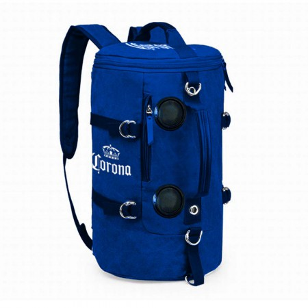 Corona Extra Soft Backpack Bluetooth Speakers Blue Cooler