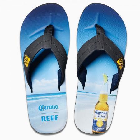 Corona Extra Bottle Opener REEF Brand Men's Flip Flops