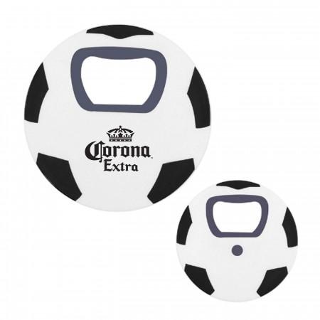 Corona Soccer Ball Bottle Opener