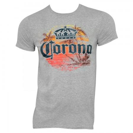 Corona Extra Sunset Grey Tee Shirt