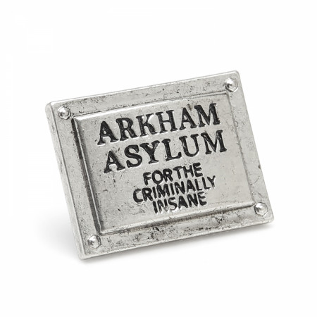 Batman Arkham Asylum Lapel Pin