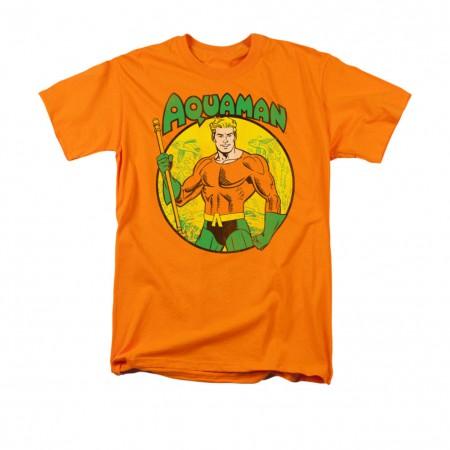 Aquaman Comic Orange Men's T-Shirt