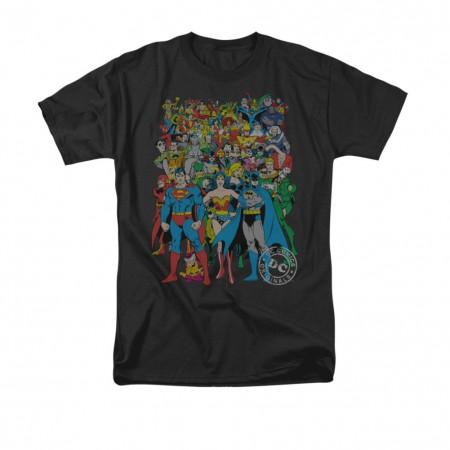 DC Comics Original Universe Black T-Shirt