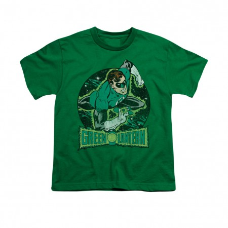 Green Lantern In The Spotlight Youth Unisex T-Shirt