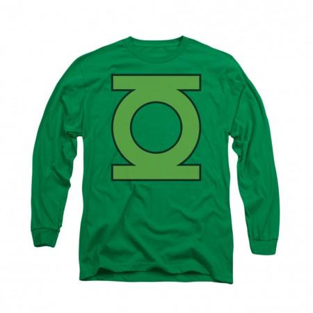 Green Lantern Emblem Logo Long Sleeve T-Shirt