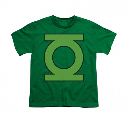 Green Lantern Emblem Youth Unisex T-Shirt