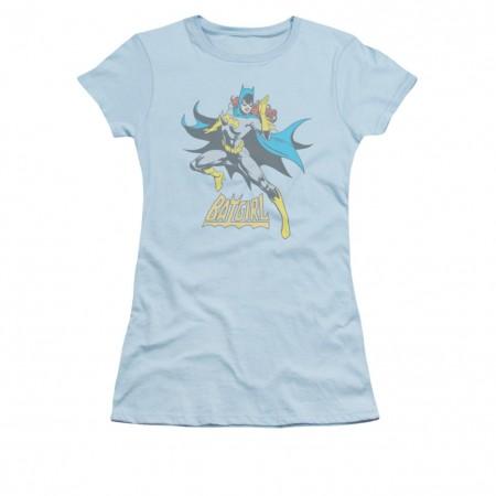 Batman Batgirl Juniors See Ya Blue T-Shirt