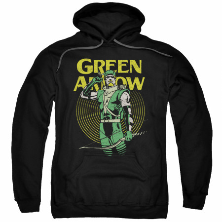 Green Arrow Men's Black Hoodie