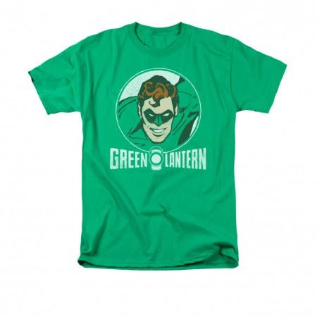 Green Lantern Retro Circle T-Shirt